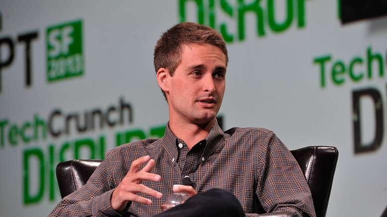 Evan Thomas Spiegel, PDG et cofondateur de l'application mobile Snapchat