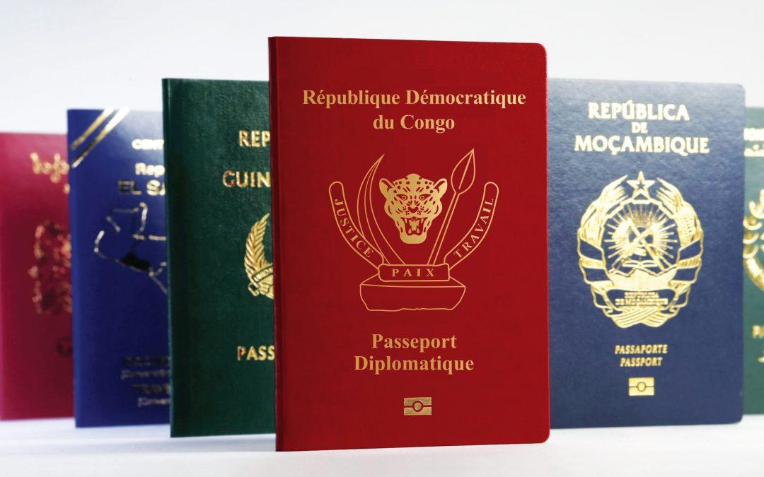 Albert Karaziwan, Semlex et l'affaire du passeport congolais